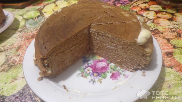 Печёночный торт с майонезом