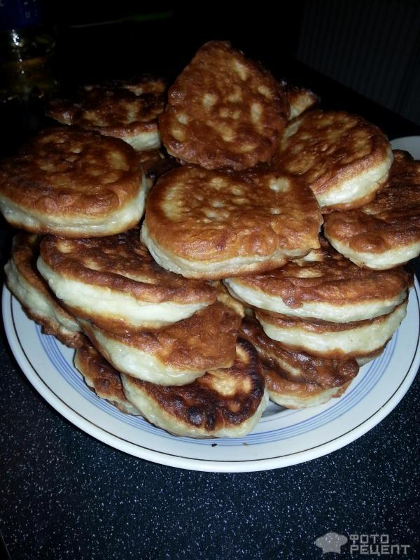 Оладьи на кефире с сыром пышные