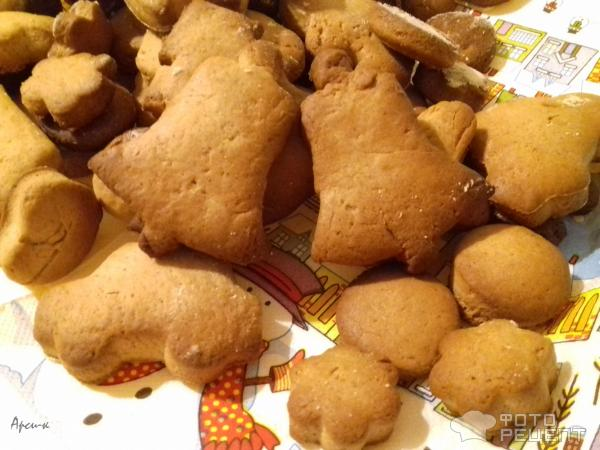 Имбирное печенье без яиц