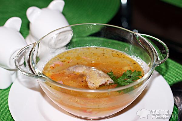 Суп из перепелкиы с фото
