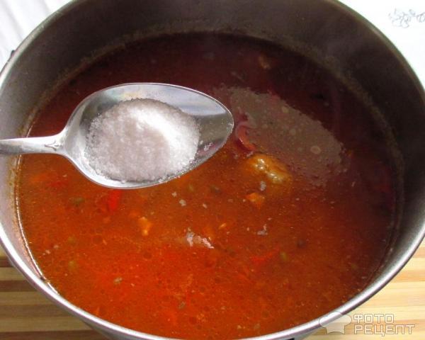 куриный суп с машем