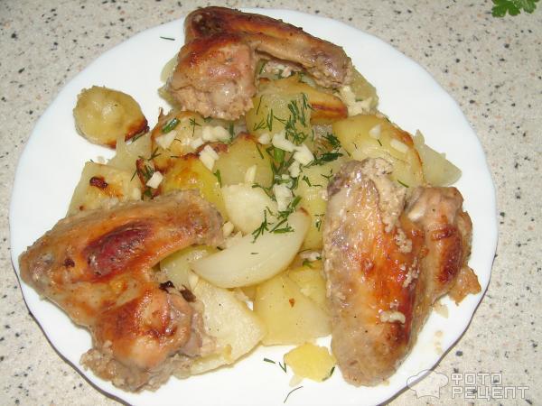Курица жареная в кефире
