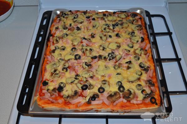Классическая пицца рецепт в домашних условиях 143