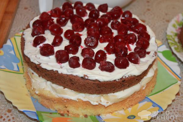Торты с глазурью и фруктами