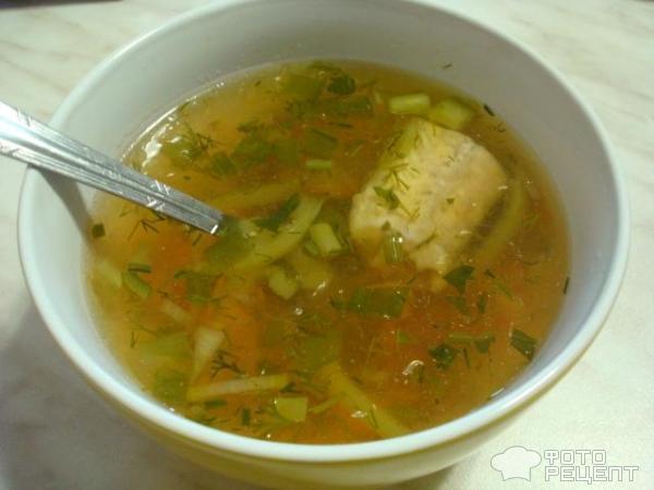 Рыбный суп из минтая рецепт с фото