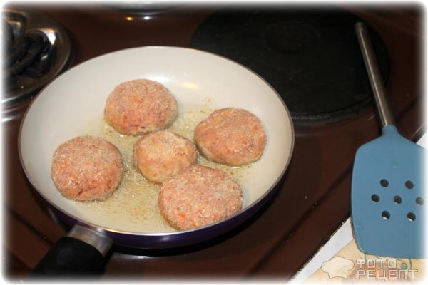 Котлеты с добавлением кабачка рецепт с фото