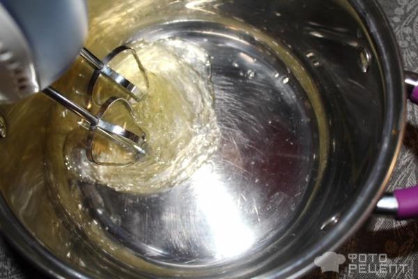 Крем белковый заварной фото