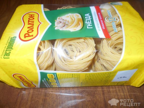 Как из спагетти сделать гнезда 322
