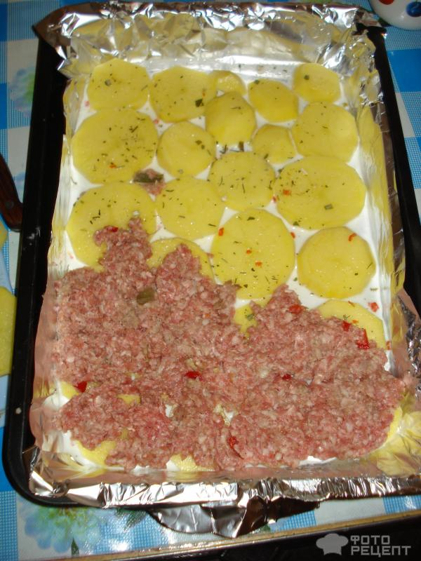 Фарш в духовке с помидорами рецепт с пошагово в духовке