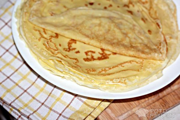 Блины на молоке рецепт тонкие рецепт с пошагово без соды