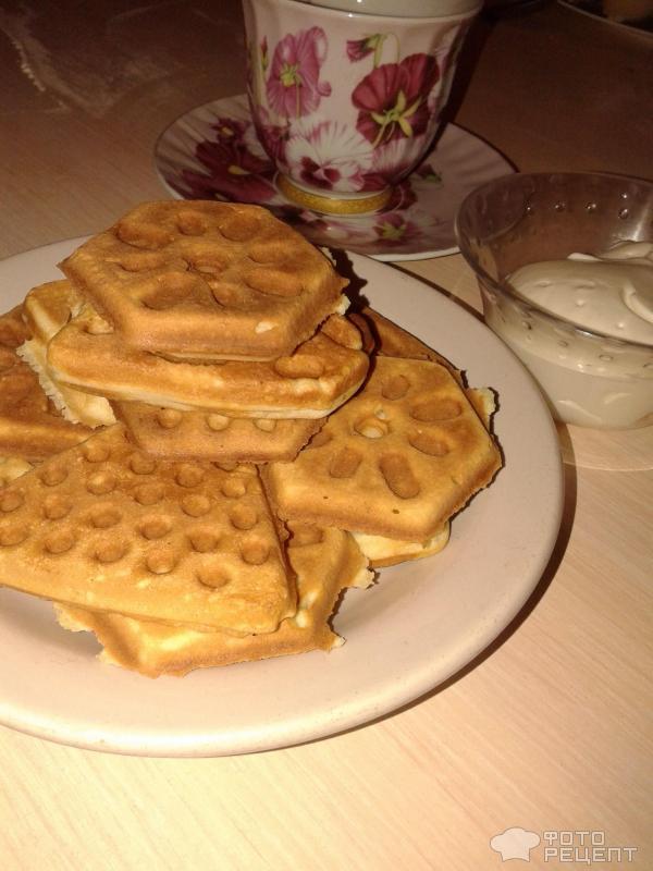 Вафли в вафельнице рецепт пошагово сладкие