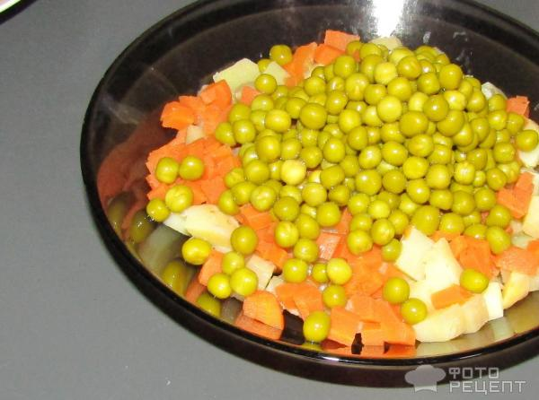 Салат без яиц рецепты с