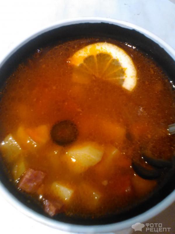 солянка без мяса рецепт с фото пошагово