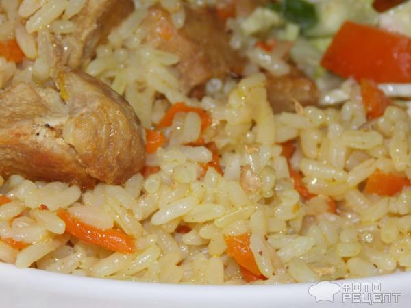 Узбекский плов из свинины в мультиварке рецепт с пошагово