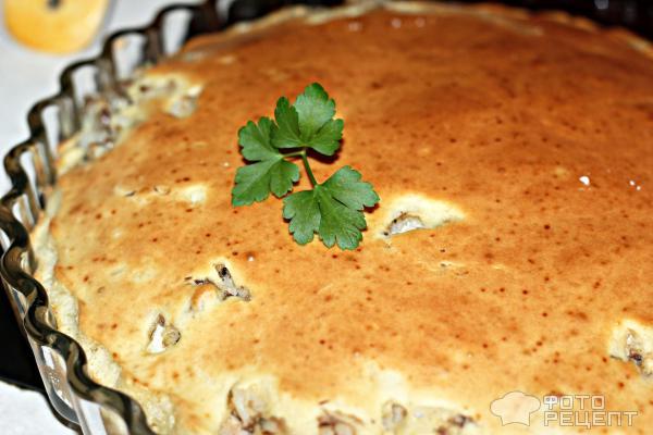 Пирог с сайрой консервированной рецепты