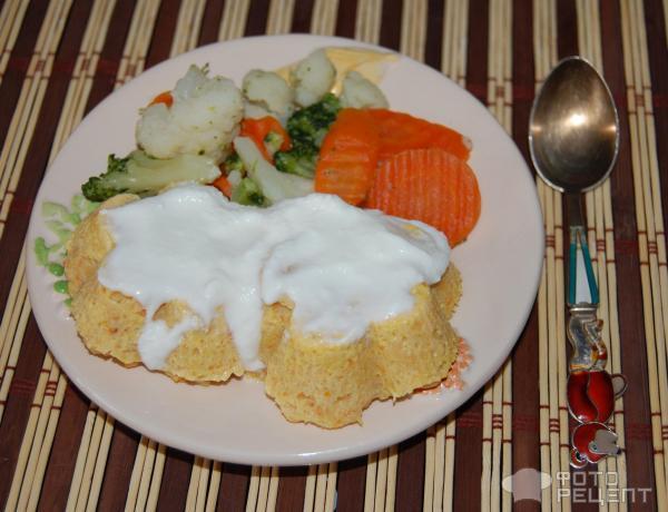 Суфле из минтая в духовке рецепт с пошагово