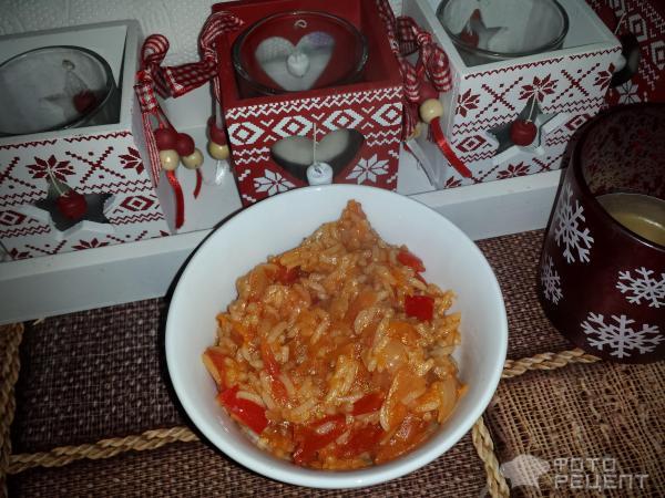 Рецепт завтрака туриста с рисом