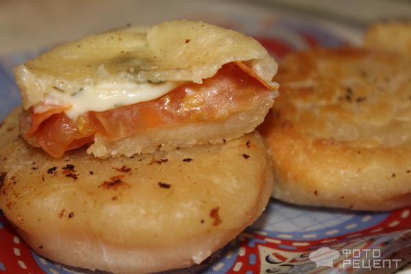 рецепты пирожков с плавленным сыром