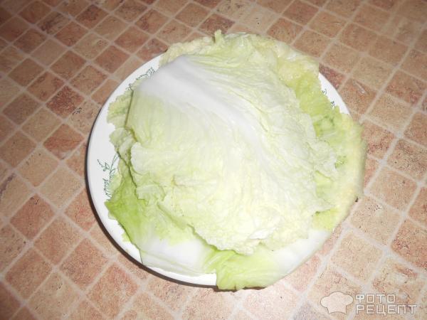 Голубцы из пекинской капусты фото