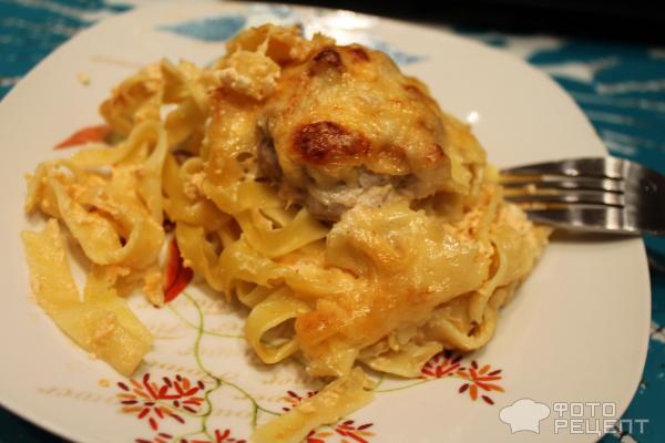 Спагетти с рыбным фаршем рецепты