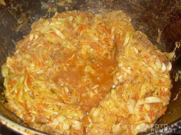 рецепт ленивых голубцов с капустой рисом и фаршем в духовке