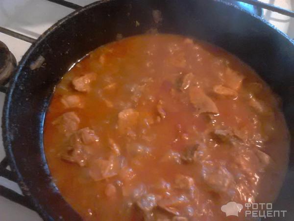 Подливка из свинины рецепт с фото