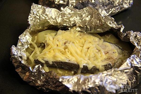 стейк зубатки рецепт в духовке в фольге