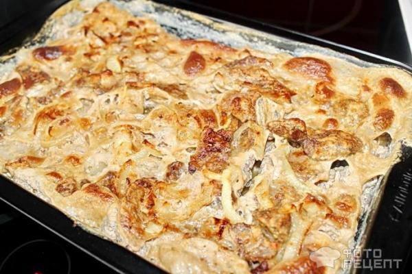 Рецепт свиная печень в молоке рецепты
