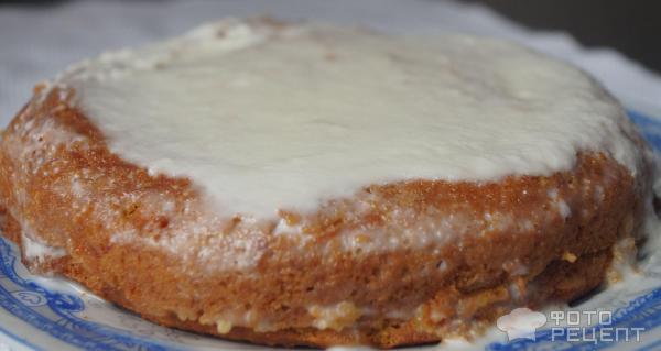 Торт со сметаной рецепт пошагово