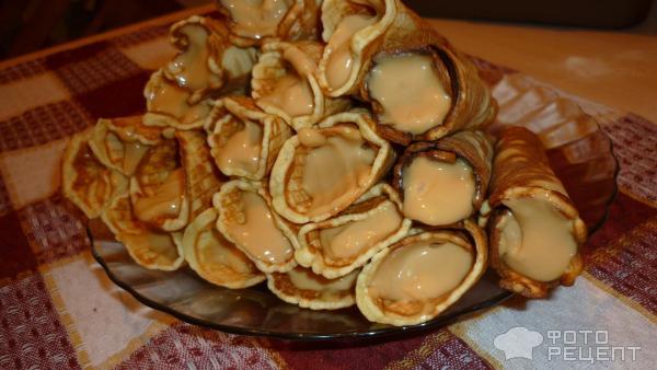 Трубочки вафельные со сметаной рецепт