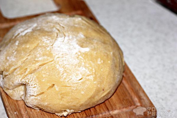 Песочный пирог с вареньем фото