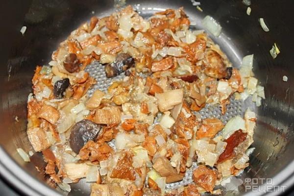 Пирог из капусты с грибами рецепт