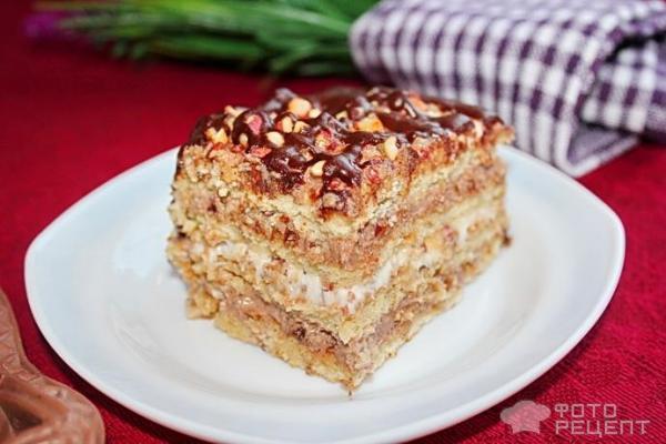Рецепты торт со сгущенкой без выпечки из печенья