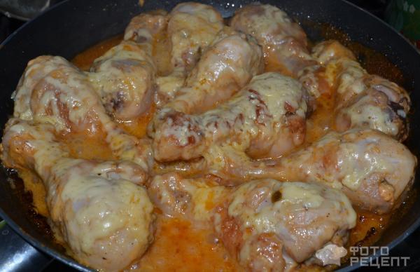 Рецепт голень куриная жареная на сковороде