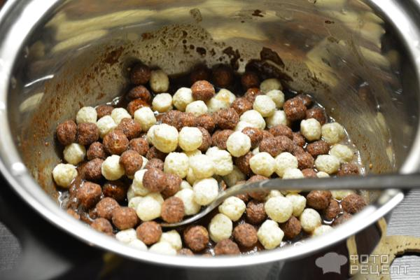Пасхальные шоколадные гнезда фото