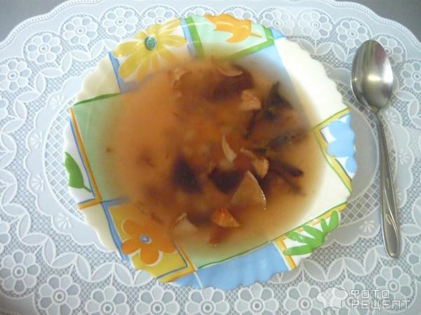Сладкий фруктовый суп фото