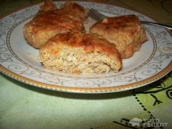 ленивые голубцы котлетками рецепт с фото пошагово