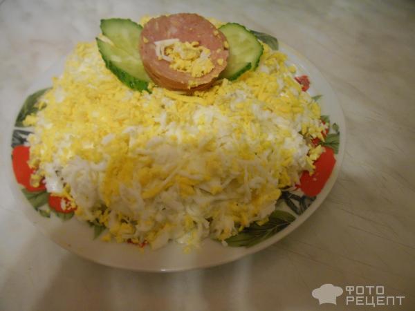Салат мимоза без картошки рецепт с фото