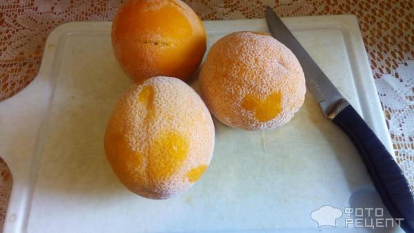 Как сделать сок из одного замороженного апельсина 931