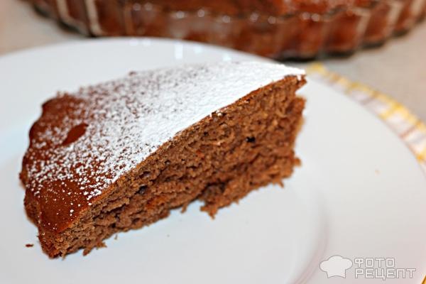 рецепт простого пирога с какао фото