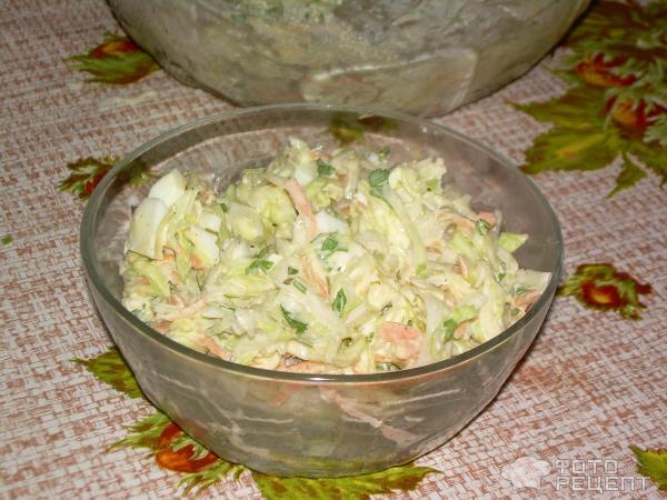 Салаты с капустой белокочанной рецепты с простые и вкусные