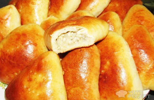Пирожки на кефире в духовке фото