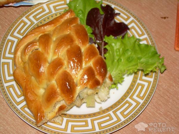 Пирог из минтая и картошки рецепт с