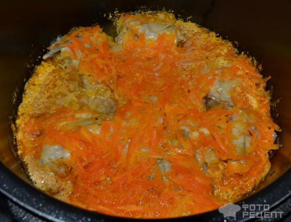 Морковь тушеная с фото в мультиварке