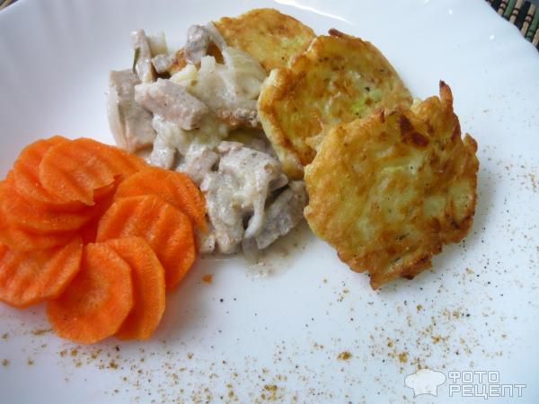 Рецепт драники из картофеля с кабачком пошаговые фото