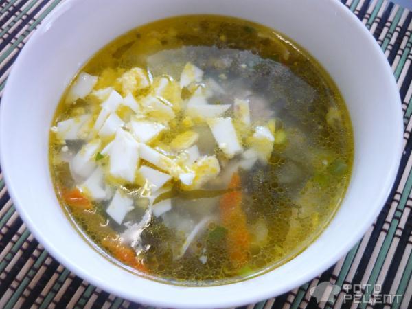 Суп из щавеля фото
