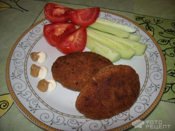 Котлеты с рубленным мясом рецепт 27
