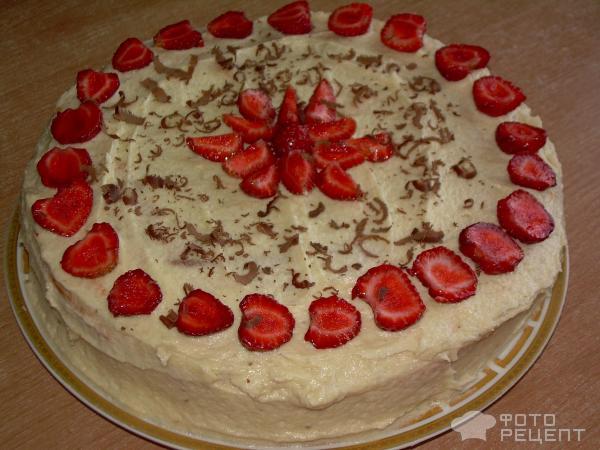 Вкусный нежный тортик фото