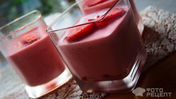 Десерт из клубники пошаговый рецепт с