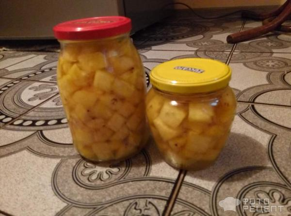 Консервированные ананасы фото